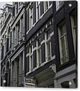 Hotel Rooms Clean And Simple Amsterdam Acrylic Print