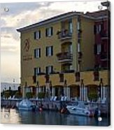 Hotel Sirmione. Lago Di Garda Acrylic Print