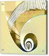 Hotel Staircase Lisbon Acrylic Print