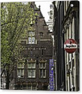 Hotel The Globe Amsterdam Acrylic Print