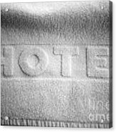 Hotel Towel Acrylic Print