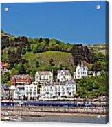 Hotels And Guesthouseson Great Orme Llandudno Wales Uk Acrylic Print