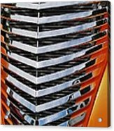 Hotrod Grill Acrylic Print