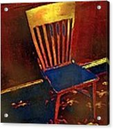 Hotseat In Hell Acrylic Print