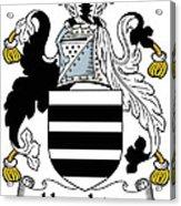 Houghton Coat Of Arms Irish Acrylic Print