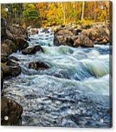 Housatonic River Autumn Acrylic Print