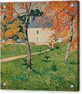 House Among Trees Acrylic Print