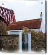 House At The Bridge Acrylic Print