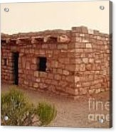 House At The Timbisha Shoshone Homeland Acrylic Print