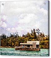 House Boat Acrylic Print