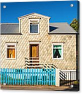 House In Akureyri Iceland Acrylic Print