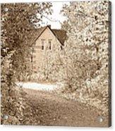 House In Autumn Acrylic Print