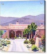 House In Borrego Springs Acrylic Print