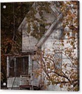 House In Fall Acrylic Print