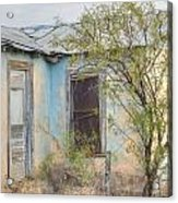 House In Ft. Stockton IIi Muted Acrylic Print