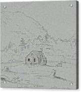 House In Mount Desert Acrylic Print