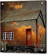 House In The Clouds Acrylic Print
