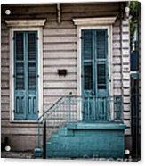 House Of Blue Doors Acrylic Print