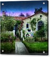 House Of Our Dreams Acrylic Print by Cary Shapiro