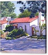 House On Crest Del Mar Acrylic Print