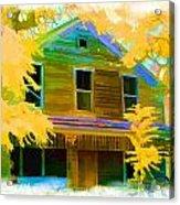 House On Main Street Acrylic Print