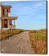 House On Rural Dirt Road Acrylic Print