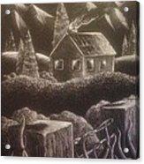 House On The Hills Acrylic Print