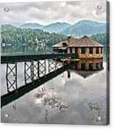 House On The Lake Acrylic Print