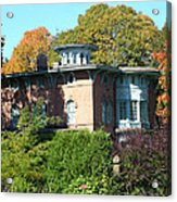 House Surrounded By Autumn Acrylic Print