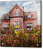 House - Victorian - Summer Cottage  Acrylic Print