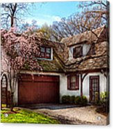 House - Westfield Nj - Who Doesn't Love Spring  Acrylic Print