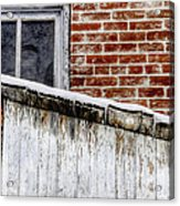 House With Shed 13122 Acrylic Print