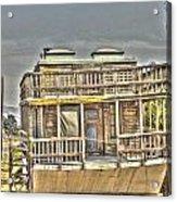 Houseboat 2 Acrylic Print