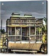 Houseboat Acrylic Print