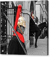 Household Cavalry Guards  Acrylic Print