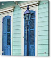 Houses Along A Street, French Quarter Acrylic Print