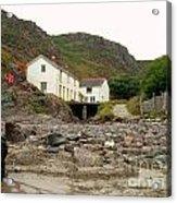 Houses At Kynance Cove Acrylic Print