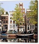 Houses In Amsterdam Acrylic Print