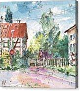 Houses In Soufflenheim Acrylic Print