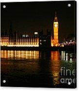 Houses Of Parliament - London Acrylic Print
