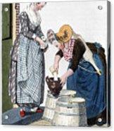 Housewife, 1811 Acrylic Print