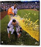 Houston Astros V Kansas City Royals Acrylic Print