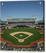 Houston Astros V Oakland Athletics Acrylic Print