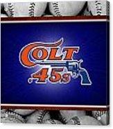 Houston Colt 45's Acrylic Print by Joe Hamilton