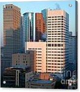 Houston Financial District Acrylic Print