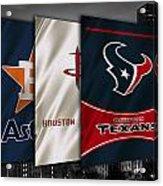 Houston Sports Teams Acrylic Print