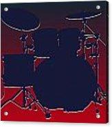 Houston Texans Drum Set Acrylic Print
