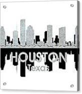 Houston Tx 4 Acrylic Print by Angelina Vick