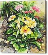The Garden Rule Acrylic Print