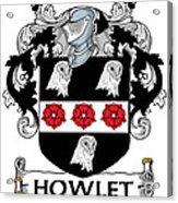 Howlet Coat Of Arms Dublin Acrylic Print